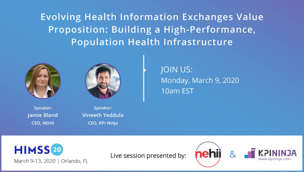 NEHII/KPI HIMSS